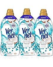 Vernel Aromaterapia Suavizante Refrescante de Agua de Coco y Minerales, 1.748 L, 3 unidades (Total 5.244 L)
