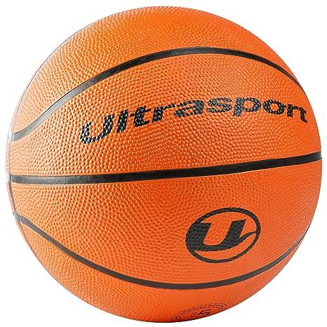 Ultrasport Balón de Baloncesto, optimo para Todo Tipo de Superficies, Apto para Interior y Exterior, Muy Buen Agarre y Tacto excelente Gracias a su ...