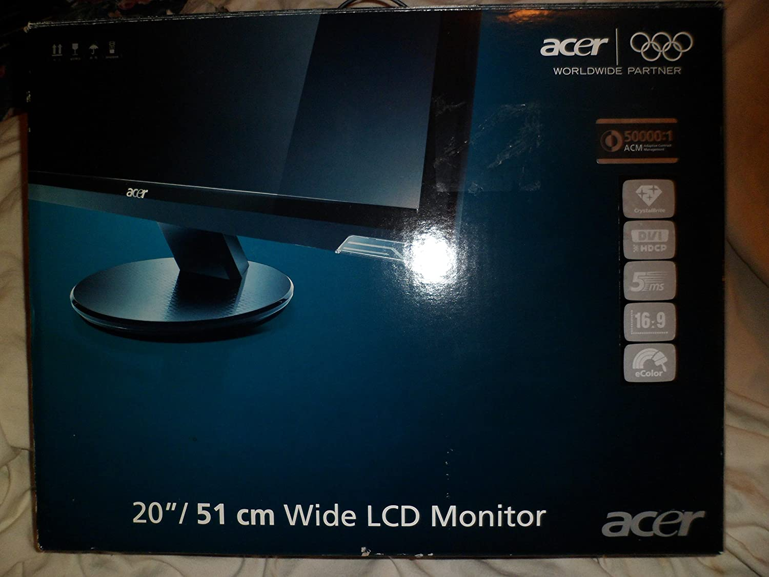 Amazon.com: Acer G205HV bd 20-inch Widescreen Flat-Panel LCD Monitor:  Computers & Accessories