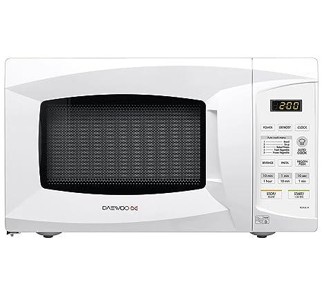 Daewoo KOR6L1B - Microondas (1000W, 230V, 50 Hz, 44,6 cm, 33 ...