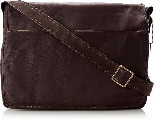 David King Co. Laptop Messenger Bag, Cafe, One Size