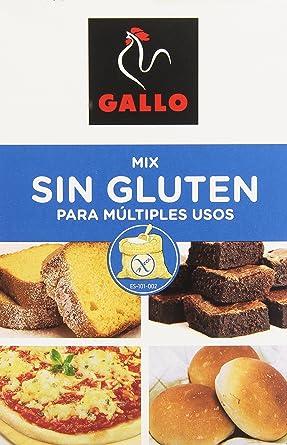 Gallo - Mix para multiples usos - Sin gluten - 500 g: Amazon.es ...