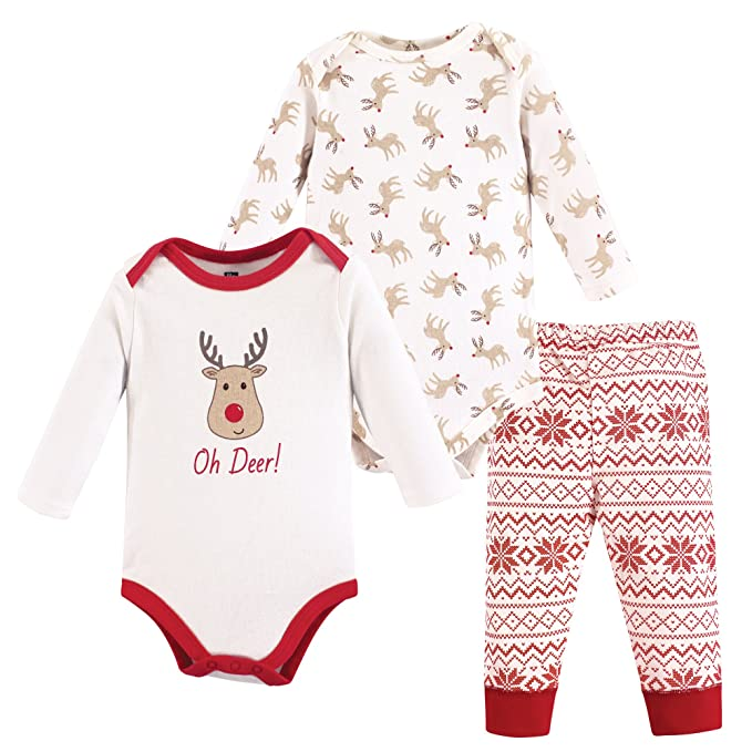 6M Bottoms and Shoes 3-6 Months Hudson Baby Unisex Baby Bodysuit