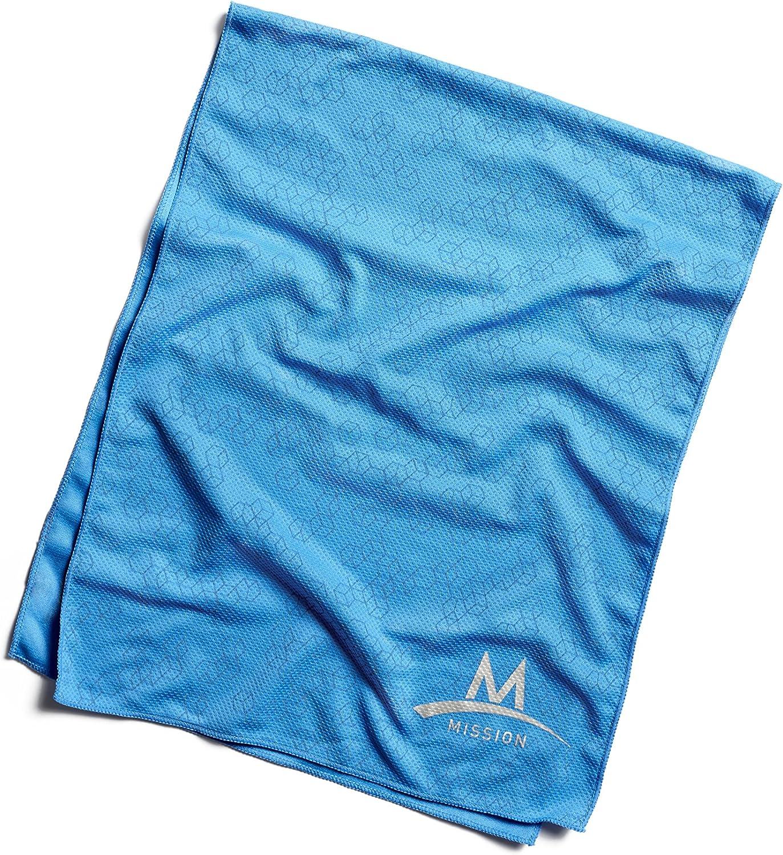 Mission EnduraCool Réfléchissant techknit refroidissement serviette Anthracite