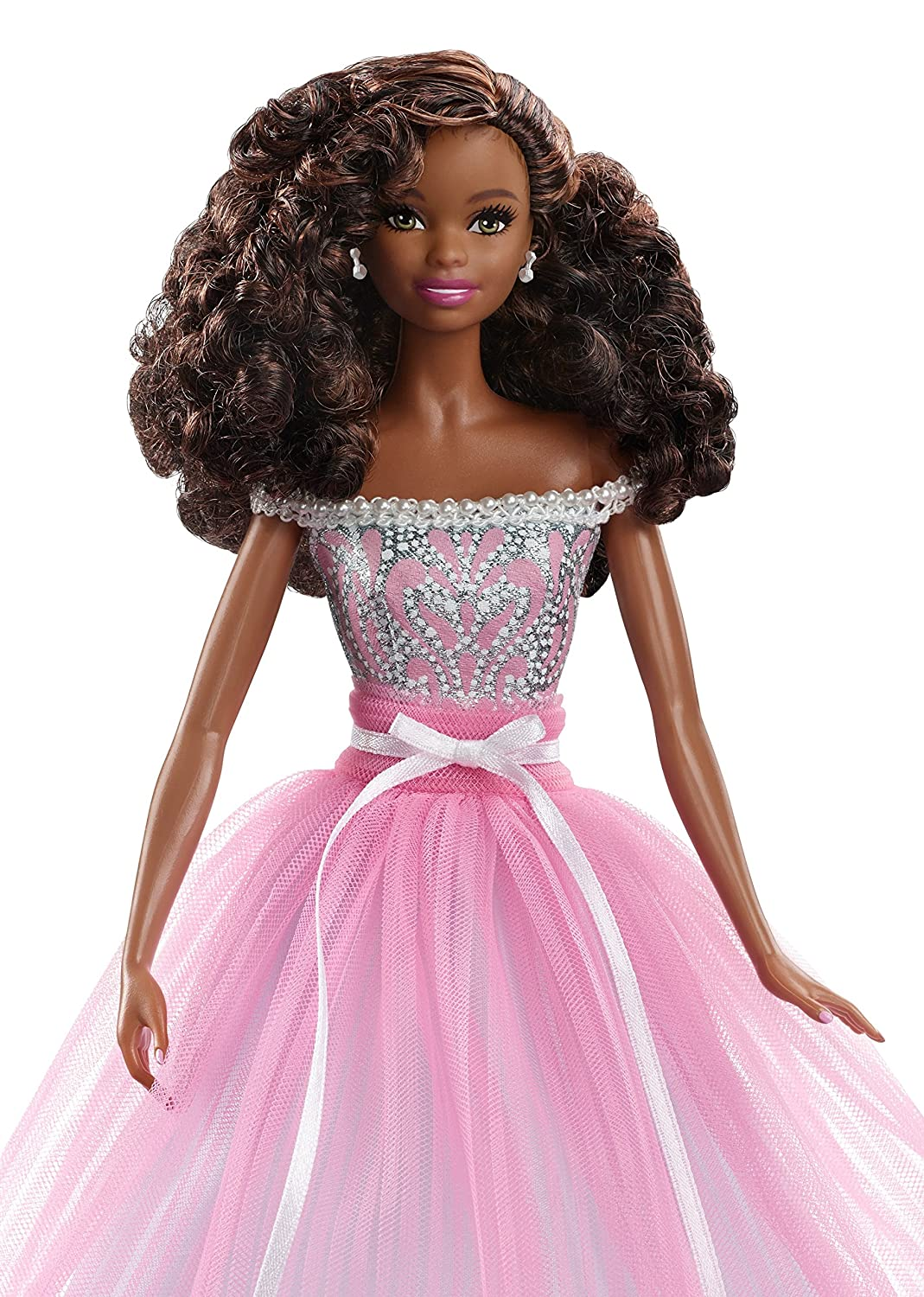 Barbie DVP50 887961373059 Collector Birthday Wishes Doll African American Amazoncouk Toys Games