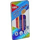 Lápis Cor, Tris, 7897476682327, Multicor, pacote de 12