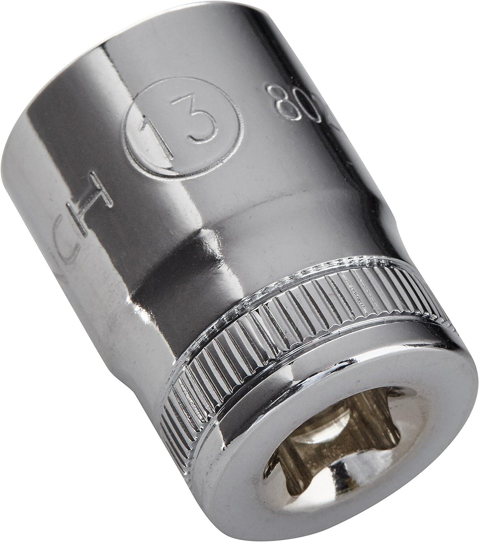 Black GearWrench 80207 1//4 Drive 12 Point Standard Metric Socket 13mm