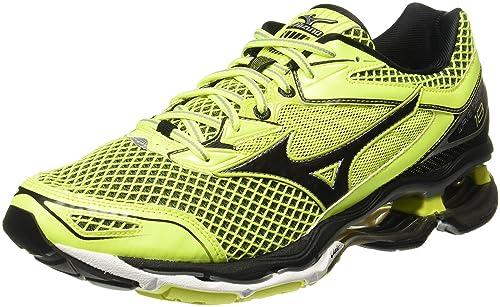 outlet store 6baeb 7dc1c Mizuno Men s Wave Creation 18 Yellow Running Shoes-6 UK India (39 EU