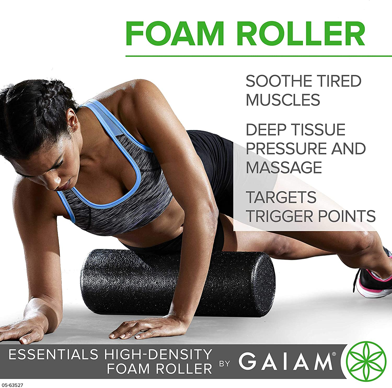 Fitness Yoga Foam Roller Deeply Relaxing Muscle Massager Pilates Gym Roller Soft