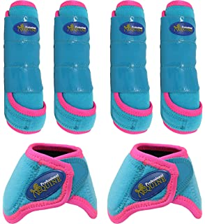 BLongTai Knee High Compression Socks Cute Pink Horse Pattern for Women and Men Sport Crew Tube Socks