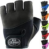 C.P.Sports Iron-Handschuh Komfort farbig Trainingshandschuh Fitness Handschuhe für Damen und Herren