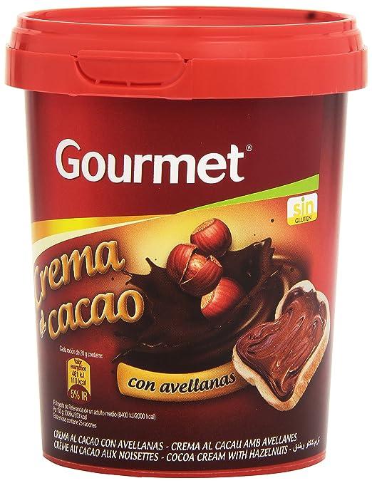 Gourmet - Crema al cacao - con avellanas - 500 g - [Pack de 3]: Amazon.es: Alimentación y bebidas
