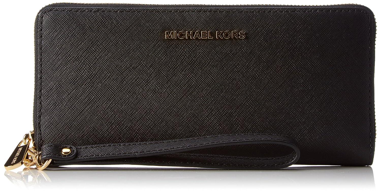 8e632877163d Amazon.com: Michael Michael Kors Womens Jet Set Travel Continental Leather  Wallet: Michael Kors: Shoes