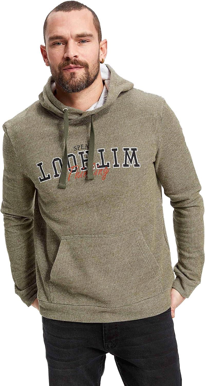 DeFacto girocollo casual grigio L maglione da uomo a maniche lunghe bicolore