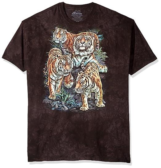 Amazon.com  The Mountain Men s Bengal Tiger Collage T-Shirt  Clothing 2b572617ec7e