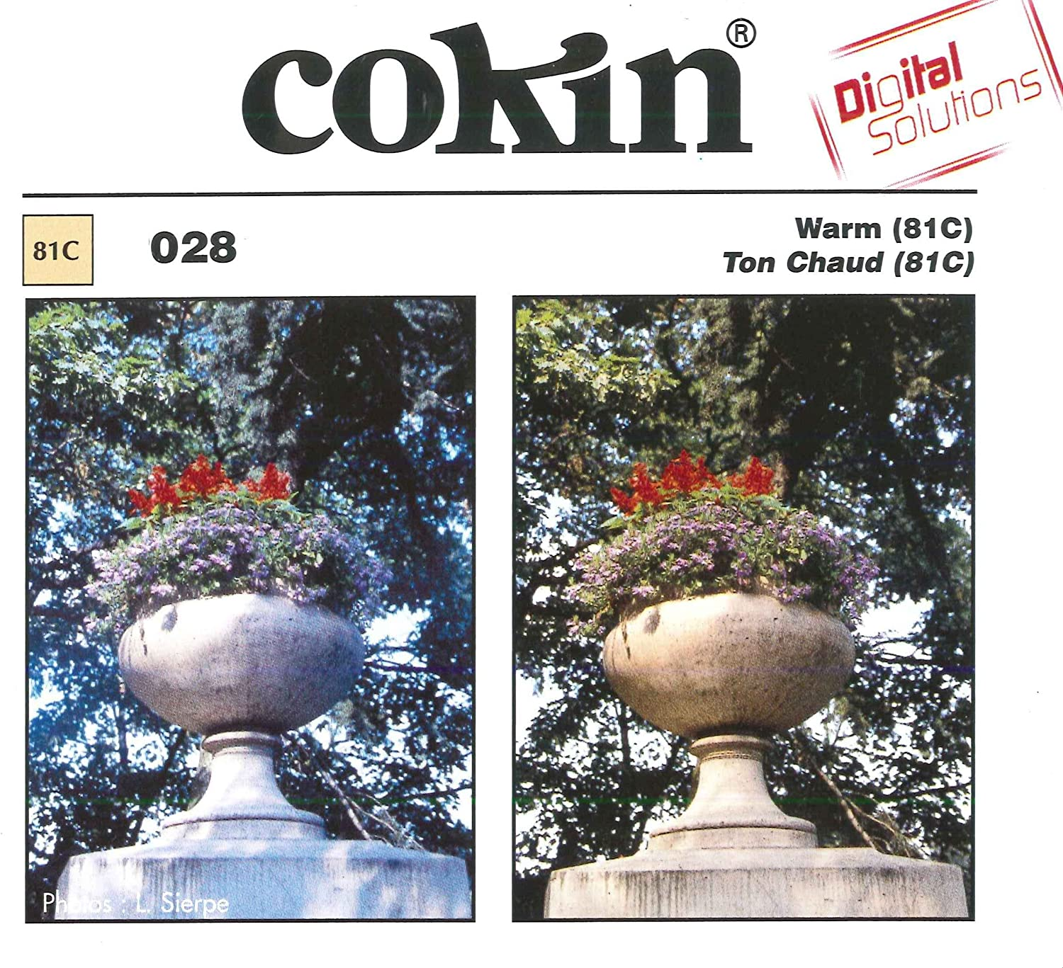 Cokin P028 Warm 81C Filter with Protective Case