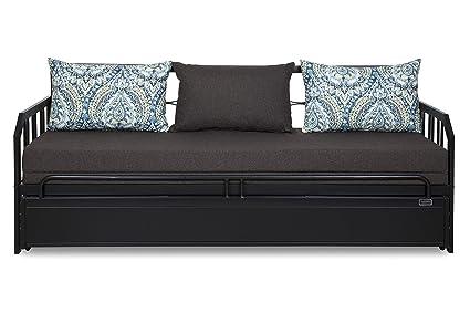 Furniturekraft Centerville Three Seater Sofa Cum Bed With Mattress