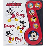 Disney Mickey Mouse & Friends - Sing, Dance, Play! Music Sound Book - PI Kids
