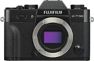 Fujifilm X-T30 Mirrorless Digital Camera, Black