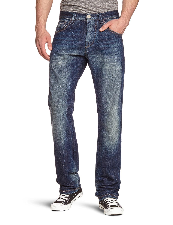 FREEMAN T.PORTER Herren Jeans Normaler Bund 00025672_5919 / Dersivo Denim F0290-34 stipe L34