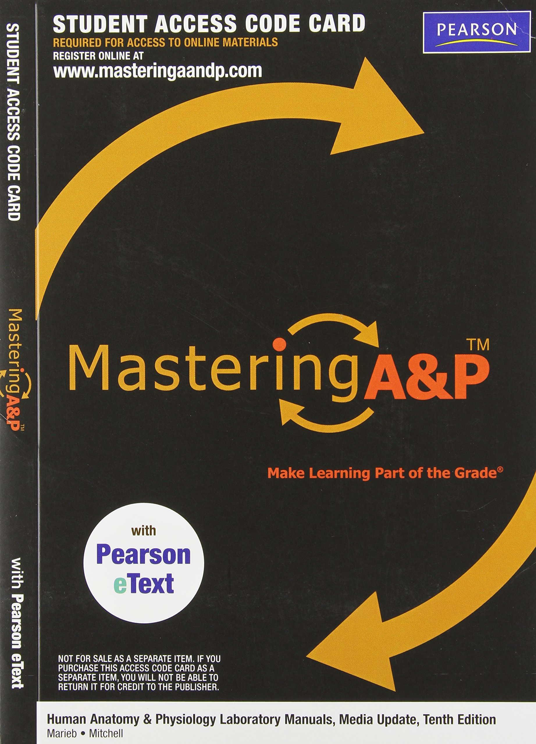 MasteringA&P with Pearson eText -- Valuepack Access Card -- for ...