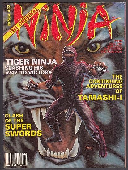 NINJA #22 Tiger Ninja Tamashi-I Dr Hatsumi Shimabara ...