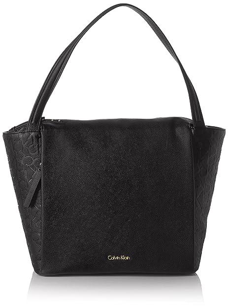 Calvin Klein Jeans Mish4 Large Tote - Bolso con asas Mujer: Amazon.es: Zapatos y complementos