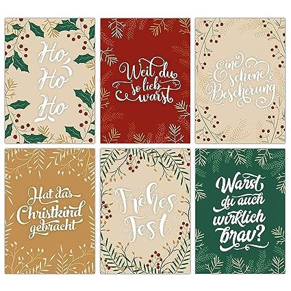 Papierdrachen - Juego de 12 tarjetas de felicitación ...