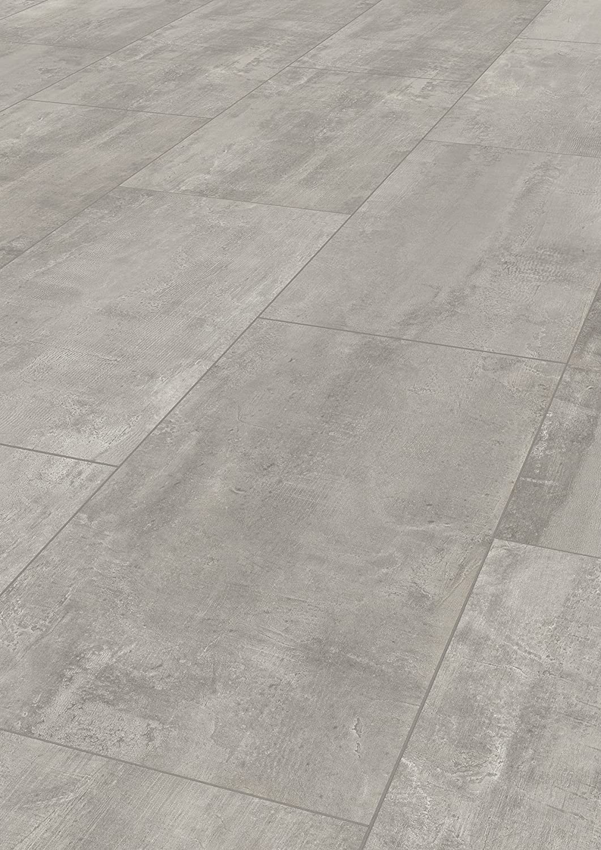 Nutzungsklasse AC4//32 Klicksystem Sie kaufen 1 m/² - Fliesenoptik Laminat mit V-Fuge Laminatboden | 1 m/², Palatino Travertin, Fliese, 8457 Laminatboden KronoflooringImpressions 8 mm Stark