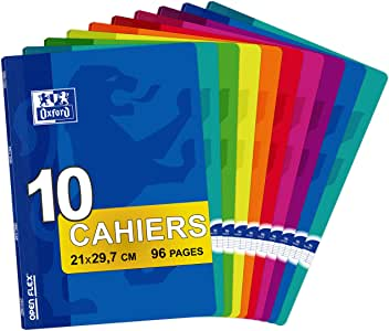 Oxford Openflex 100102627 - Pack de 10 libretas grapadas de tapa blanda, A4: Amazon.es: Oficina y papelería
