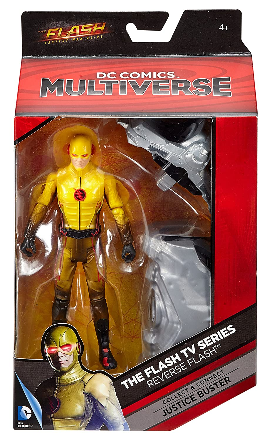 The Flash-Click /& Connect Ninja Batman DC Multi-Univers Wave 11 Wally West