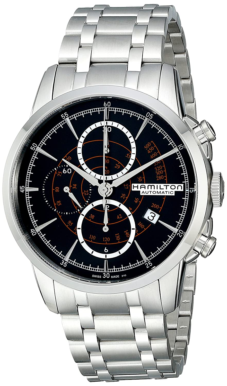 [ハミルトン]HAMILTON 腕時計 RailRoad Auto Chrono(レールロード オート クロノ) H40656131 メンズ 【正規輸入品】 B00P7KWA38