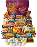 Simply Sweets super retro sweet hamper gift box. Packed with the best retro sweets. A perfect hamper for Birthdays, Get Well Soon, Christmas. Packed in...