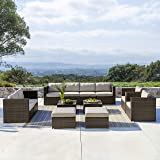 0b620c1f075 Amazon.com  Mission Hills Redondo 4-Piece Seating Set Outdoor Garden ...