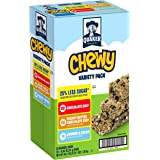 Quaker Chewy Granola Bars, 25 Percent Less Sugar Variety Pack