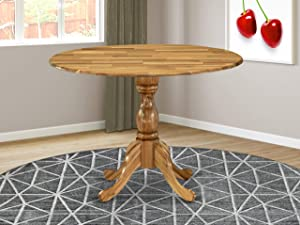 East West Furniture DMT-ANA-TP Dining Table, 42