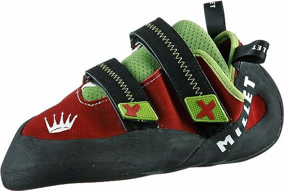 MILLET Zapatillas de escalada rojas 5: Amazon.es: Deportes y ...