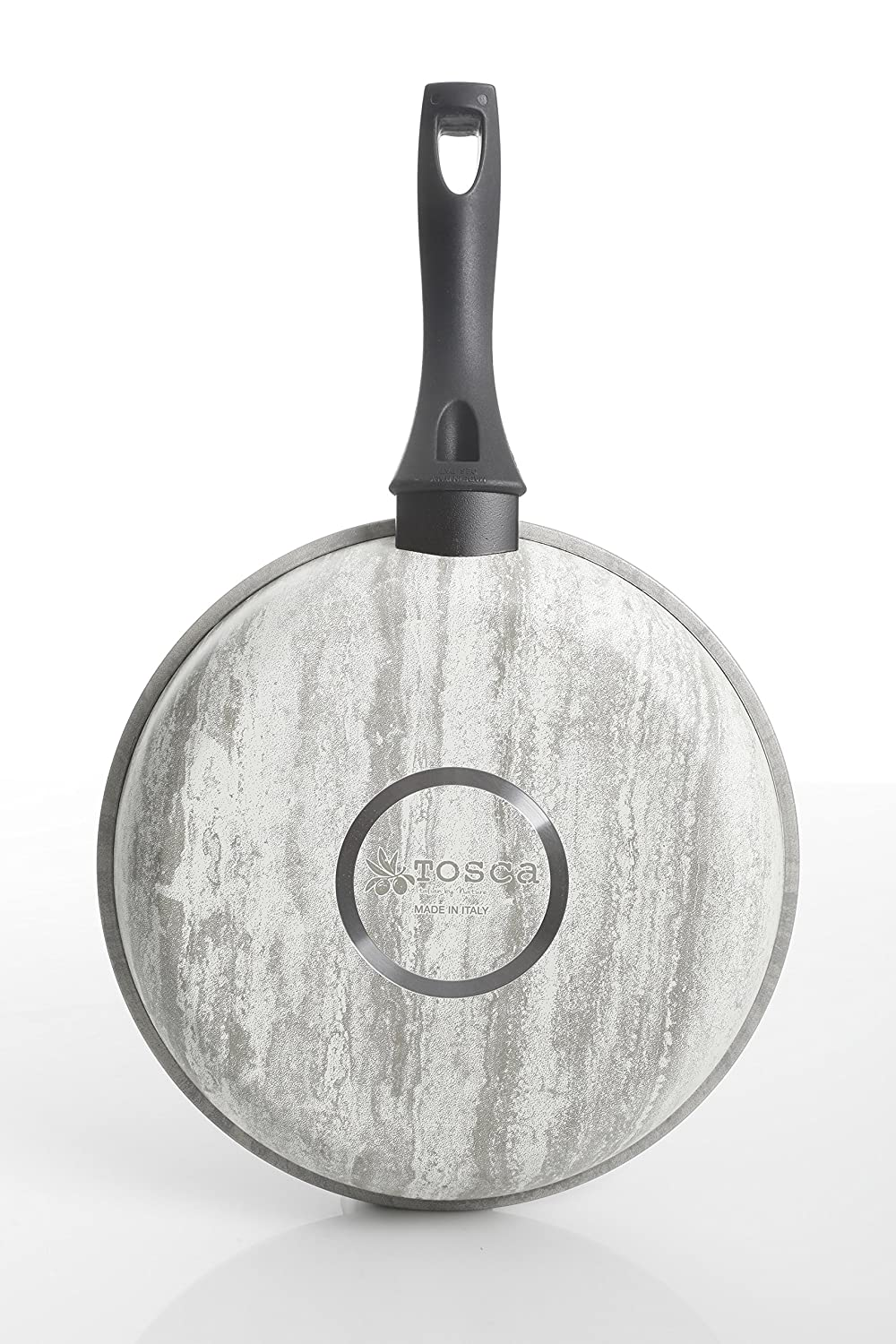 Amazon.com: Tosca 80583.01 Carrucci Luna 11 Inch Frying Pan, Marbeled Grey: Kitchen & Dining