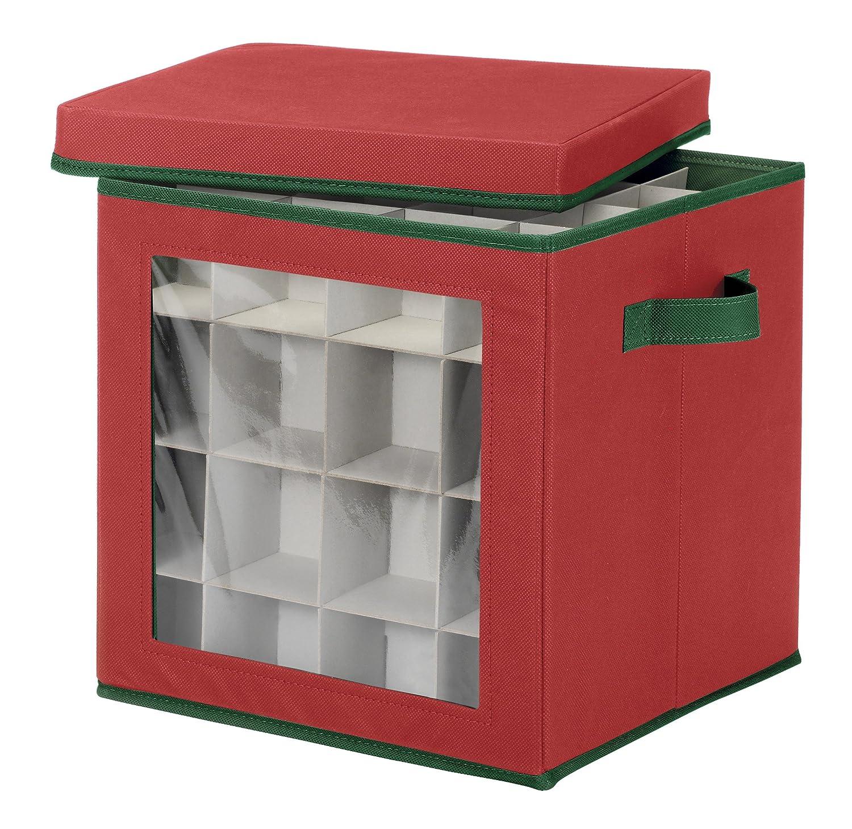 Amazoncom Whitmor Ornament Storage Cube 64 compartments Home