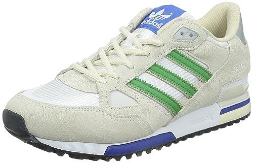 big sale 9ca35 1b344 Adidas Zx 700, Scarpe sportive Uomo, Bianco (Ftwr White Green Chalk White),  45 1 3  Amazon.it  Scarpe e borse