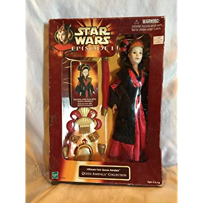 Star Wars Episode I Ultimate Hair Queen Amidala - Queen Amidala Collection (1998): Toys & Games
