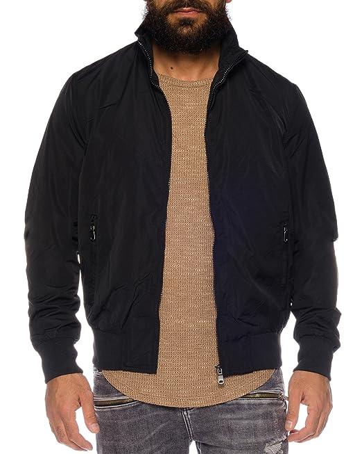 size 40 10cb3 31c22 Vanzeer - Giacca - Uomo nero L: Amazon.it: Abbigliamento