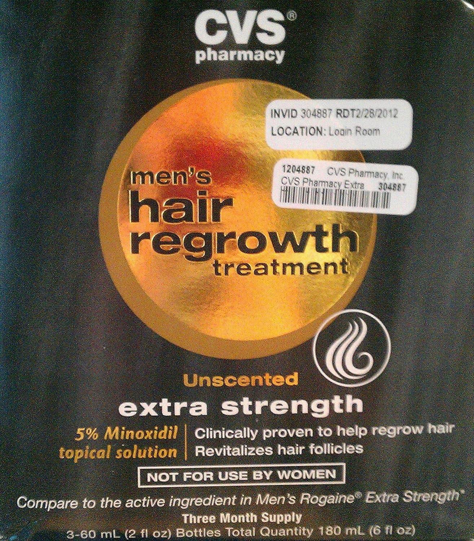 amazon com cvs hair regrowth treatment for men beauty