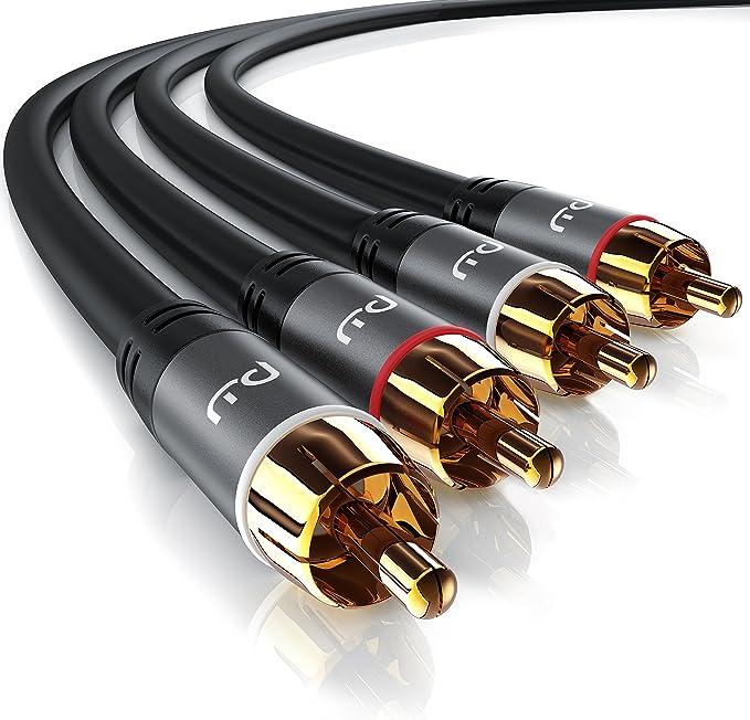 Csl Stereo Cinch Audio Kabel 1 5m Meter 2x Cinch Elektronik