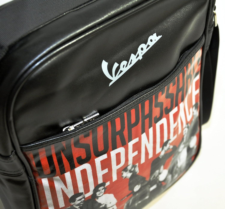 Vespa Shoulder Bag,Black Unsurpassable,US