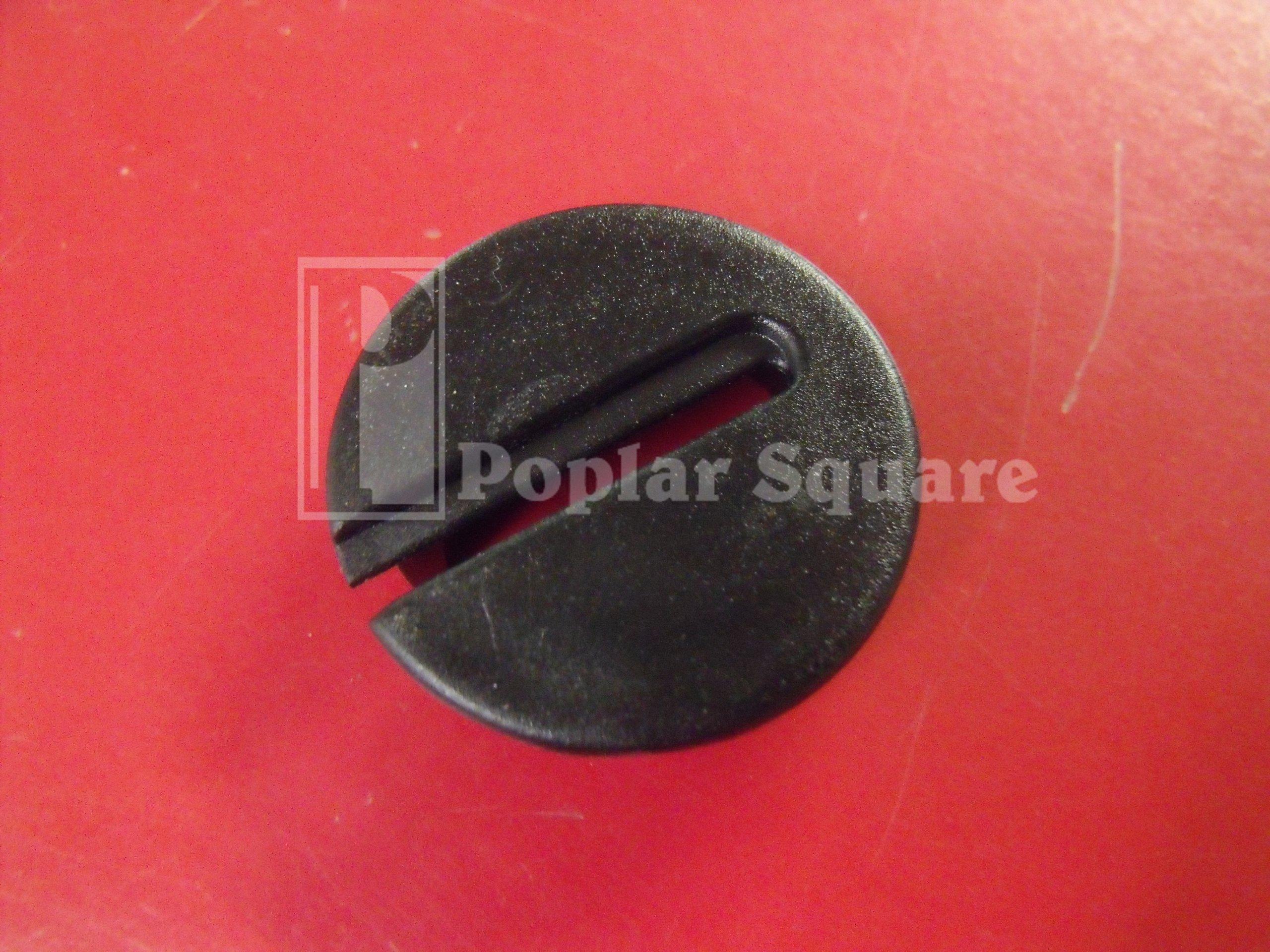 20 Black Wire Gripper Grommet #1051BK