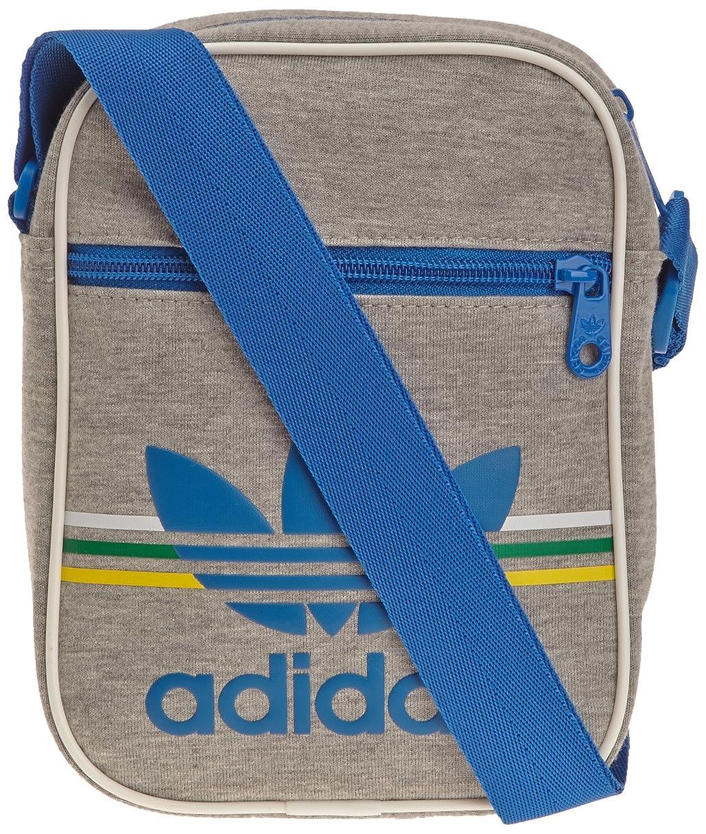 Accessorio Minibag Jersey Medium Grey Heather/Blanc ADIDAS Borsello Jersey 15 x 6 x 20 cm G86754