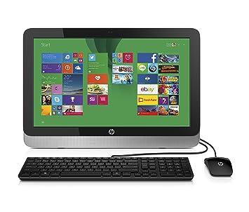 """HP 22-3010 1.4GHz E1-6015 21.5"""" 1920 x 1080Pixeles Plata PC"""