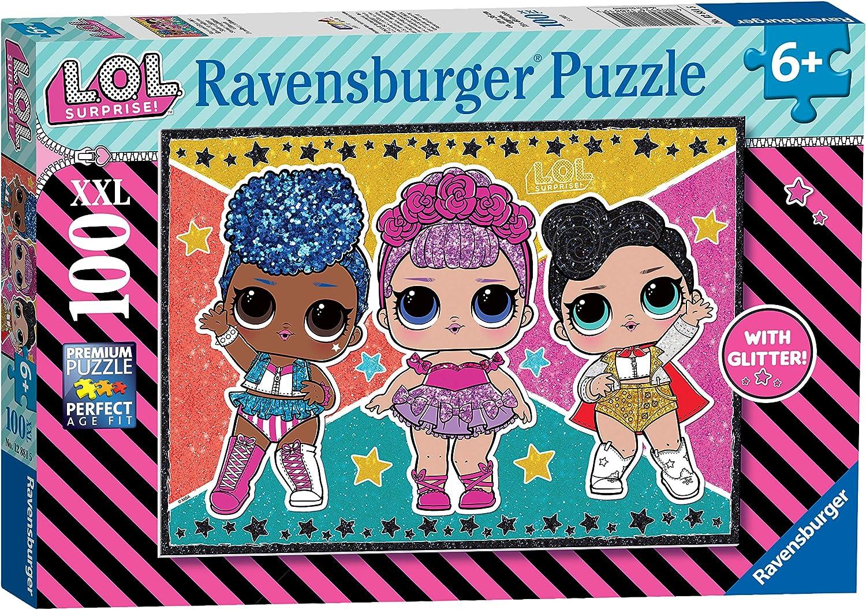 Puzzle L.O.L. 12882 100 piezas XXL Ravensburger