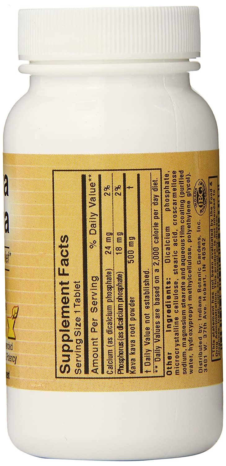Amazon: Botanic Choice Kava Kava, 90 Tablets (pack Of 5): Health &  Personal Care